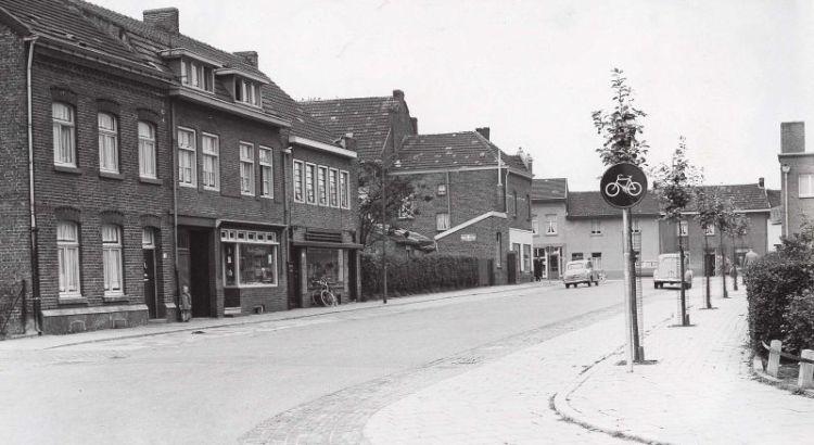 Bron: Rijckheyt.nl | Kruispunt Bautscherweg-Hambeukerboord. Op de achtergrond de Heerlerbaan.