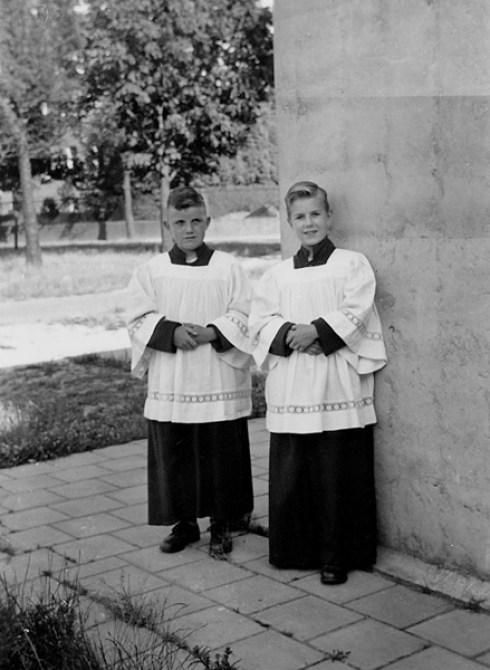 Foto: familie album van Mastrigt,1957