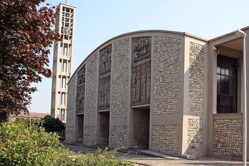 De 'nieuwe' St. Josephkerk | Bron: www.kerkgebouwen-in-limburg.nl