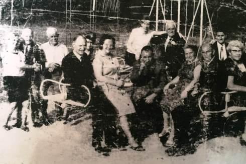Actie commitee voor het 40-jarig bestaan van Speeltuin Meezenbroek.
