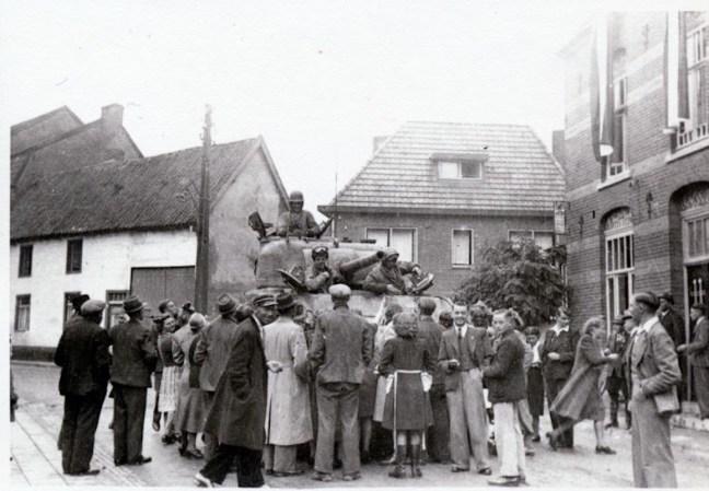 Herinneringen aan de bevrijding van Molenberg