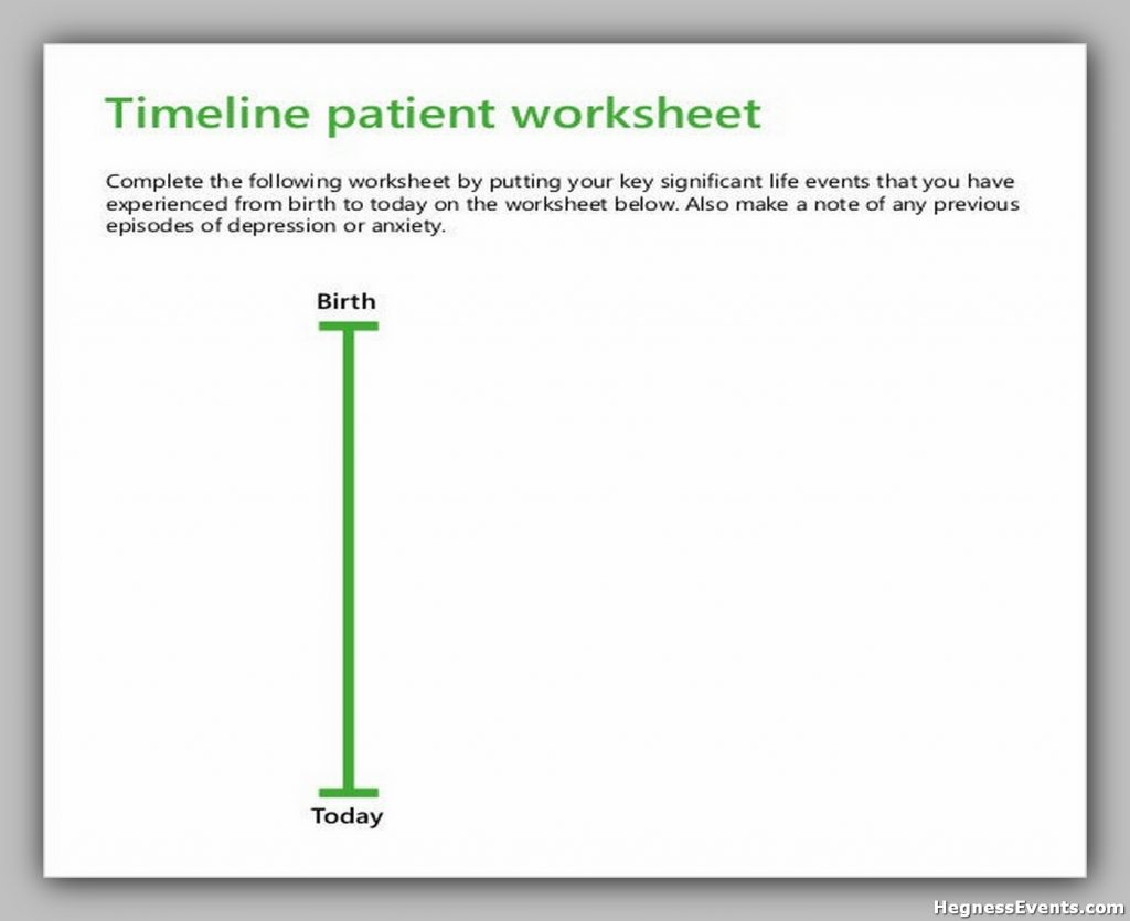 32 Blank Timeline Template