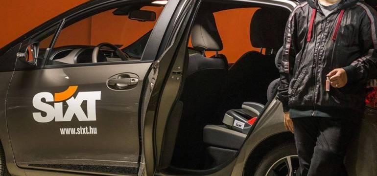 Automataváltós autóval segíti a Sixt a Hungaroringen megsérült pályabírót