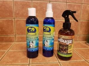 Répulsifs insecte pour chats