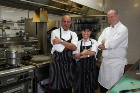 Executive Chef Magno and Team
