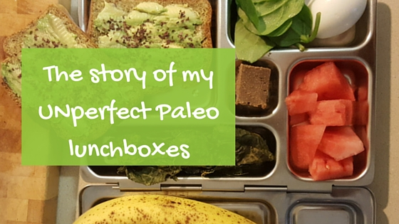 The story of my unperfect Paleo lunchboxes