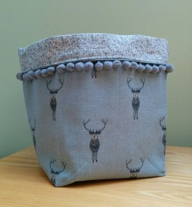 stags fabric box