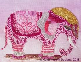 Festival Folk Elephant (SOLD)