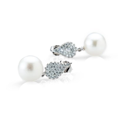 Heidi Kjeldsen Precious Diamond and Exquisite South Sea Pearl Drop Earrings ER1962