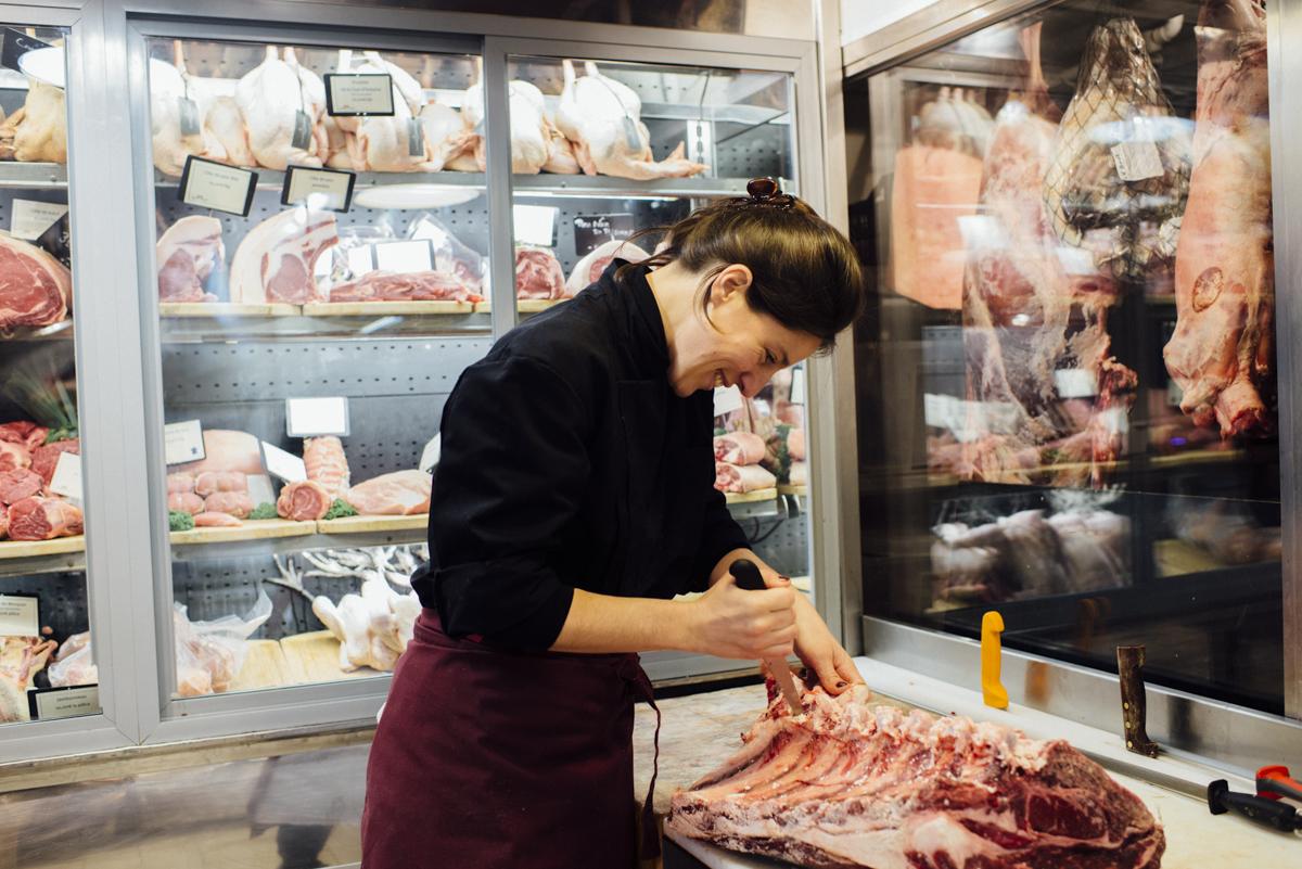 boucherie Terroir d'avenir, Paris.