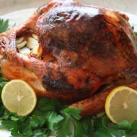 3 Step Tuscan Style Roasted Turkey