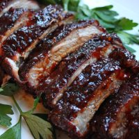 3 Step Oven Baked Ribs with Spicy Rub