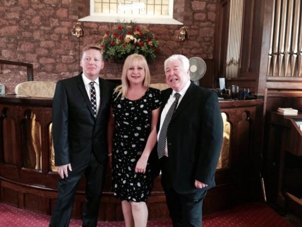 Les Henderson, Donna Stewart, Billy Cook