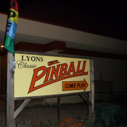 A HeidiTown fun place: Lyon's Classic Pinball