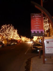 Downtown Littleton, Colorado.  Photo by H.M. Kerr-Schlaefer