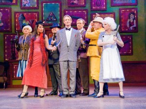 """The cast of """"Clue"""" at Candlelight Dinner Playhouse. Courtesy photo provided by Arns Photography of Fort Collins, Colorado."""