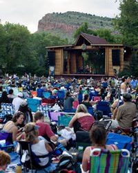 Rocky Grass Music Festival in Lyons, Colorado
