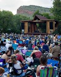 Rocky Grass Music Festival in Lyons, Colorado