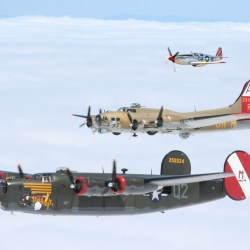 WWII planes 40s Fly In at the Fort Collins-Loveland Airport in Colorado