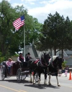 Berthoud Day Parade, Berthoud, Colorado