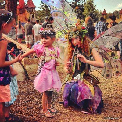 Twig the Fairy at Colorado Renaissance Festival. HeidiTown.com