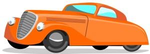 Classic Car Cartoon
