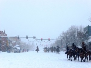 Cowboys in the Snow SB Winter Carnival 2011