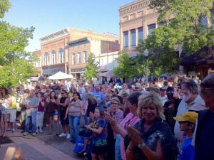 Greeley Blues Jam 2011 downtown