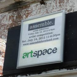 Assemble sign on the feed & grain