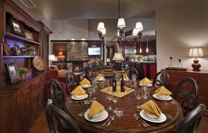 Dining room Diamond Peak OSP