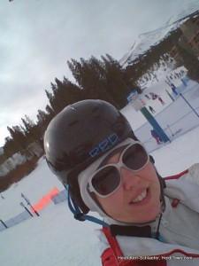 Looking like a dork at Breckenridge Ski & Ride School. HeidiTown.com