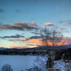Sunrise over Grand Lake HeidiTown.com