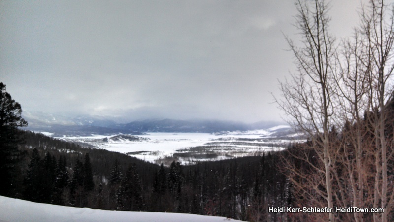 breathtaking view snowmobiling HeidiTown.com