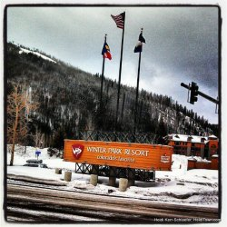 Winter Park Resort Sign Feb 2013 HeidiTown.com