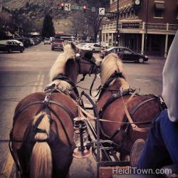 Carriage ride in Durango Colorado HeidiTown