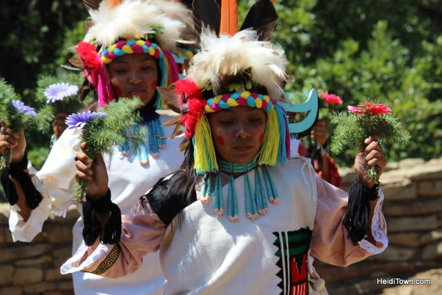 Hopi dancers performing the Butterfly Dance. HeidiTown.com