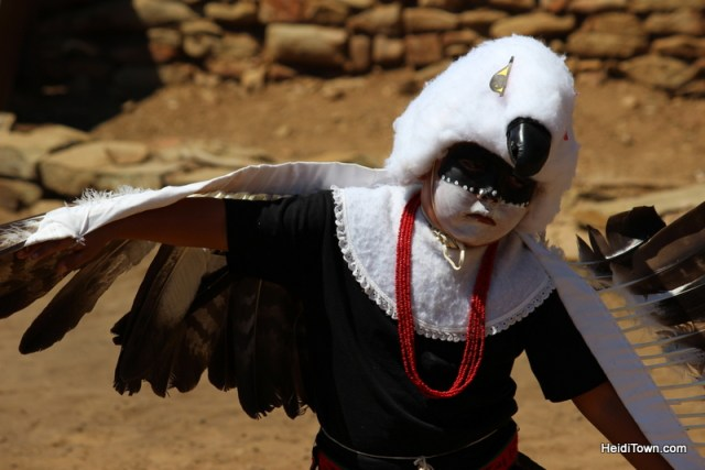 The littliest eagle in the Eagle Dance performed at the Native American Cultural Gathering. HeidiTown.com