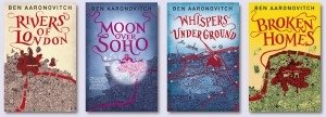 Ben Aaronovitch Peter Grant Book Series
