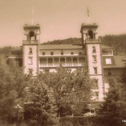 Hotel Colorado sepia by HeidiTown.com