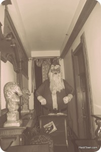 Vintage Santa at Delaware Hotel in Leadville. HeidiTown.com