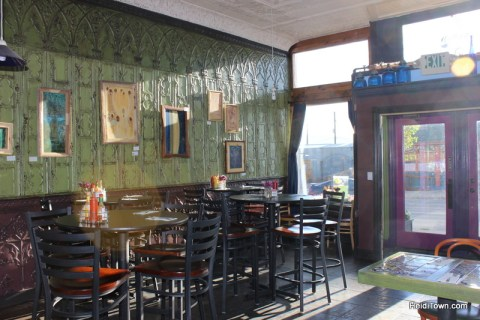 inside Tennessee Pass Cafe in Leadville, Colorado. HeidiTown.com Heidi Kerr-Schlaefer