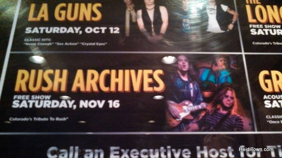 Rush Archives ad at The Reserve Casino in Central City, Colorado. HeidiTown.com
