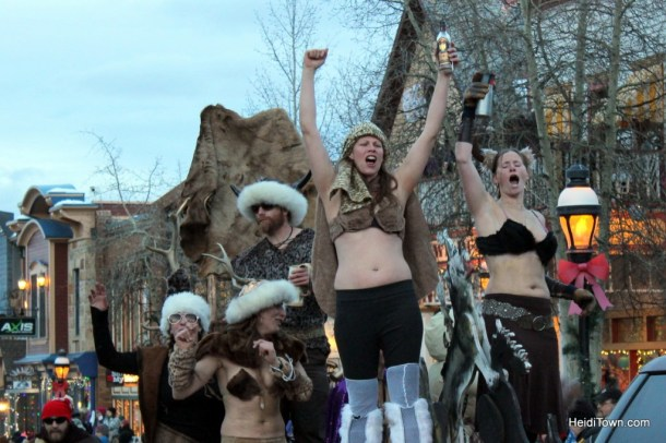 Viking gals at Ullr parade 2013 HeidiTown (2)