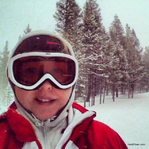 skiing at the Breckenridge Nordic Center. HeidiTown.com