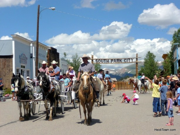 Burro Days Parade in Fairplay, Colorado. HeidiTown.com