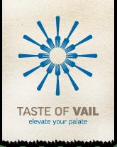 Taste of Vail logo