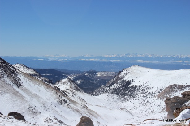 view from Pikes Peak. HeidiTown.com
