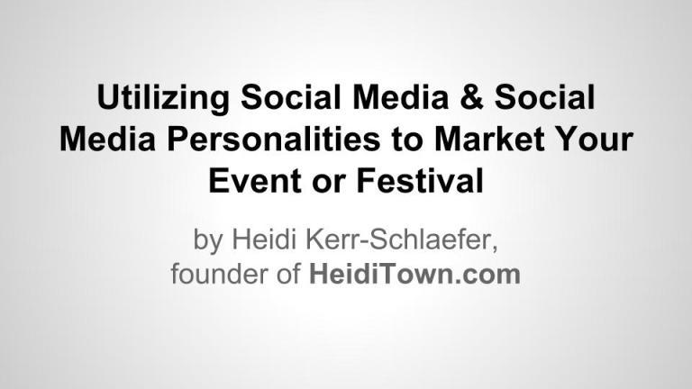 Utilizing Social Media- Presentation - CFEA (1)