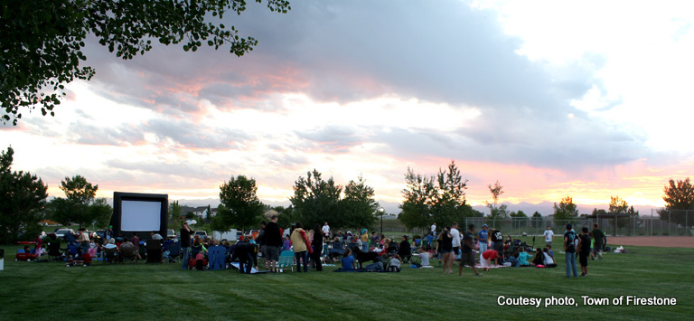 Food & Flick Friday in Firestone, Colorado. HeidiTown.com