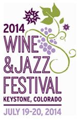 Keystone Wine & Jazz fest 2014 logo